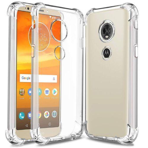 Motorola Moto E5 Plus Transparent Soft Back Cover Case 1