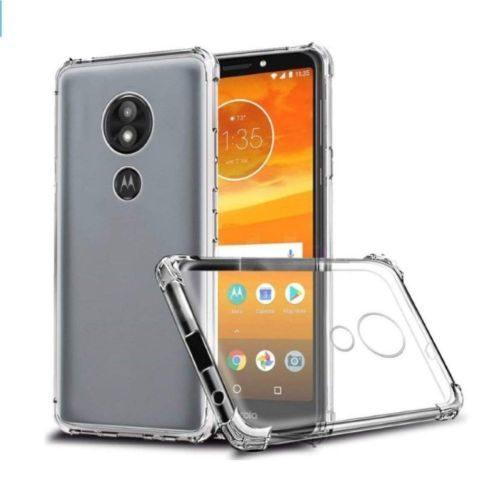 Motorola Moto E5 Plus Transparent Soft Back Cover Case Premium 1