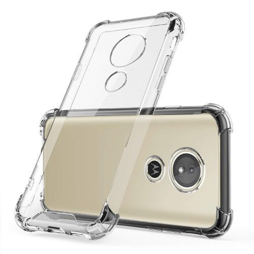 Motorola Moto E5 Transparent Soft Back Cover Case 1