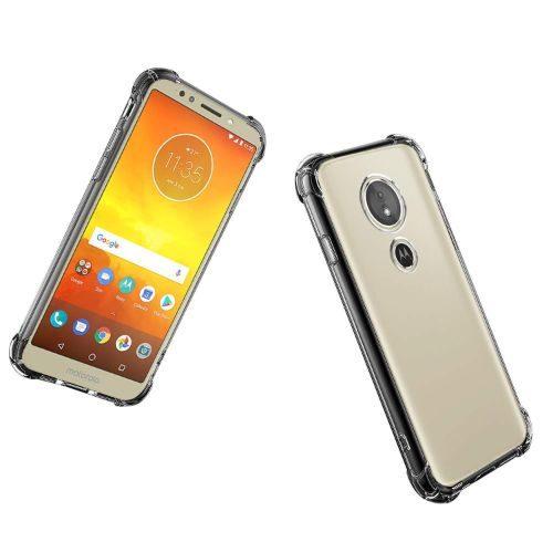 Motorola Moto E5 Transparent Soft Back Cover Case 1