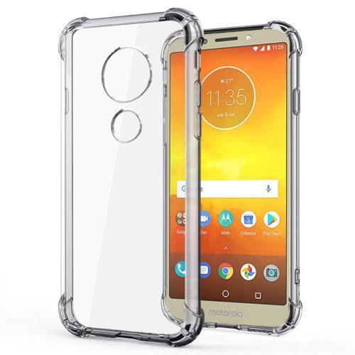 Motorola Moto E5 Transparent Soft Back Cover Case Premium 1
