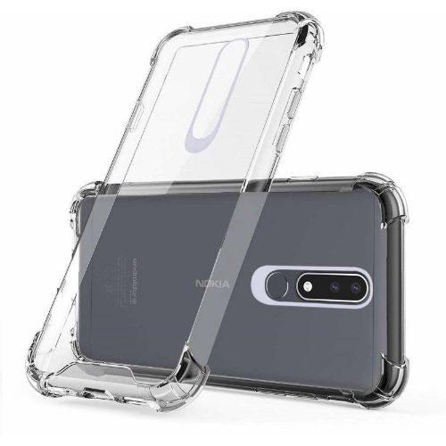 Nokia 3.1 Plus Transparent Soft Back Cover Case Premium 1