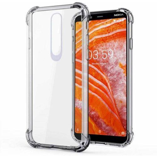 Nokia 3.1 Plus Transparent Soft Back Cover Premium 1