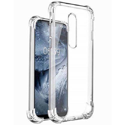 Nokia 5.1 Plus Transparent Soft Back Cover Premium 1