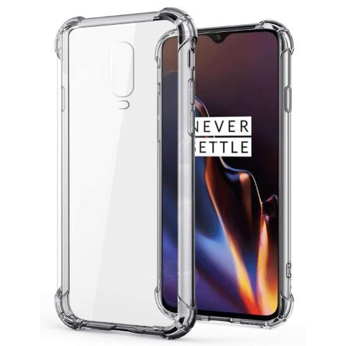 OnePlus 6T Transparent Soft Back Cover Case Premium 1