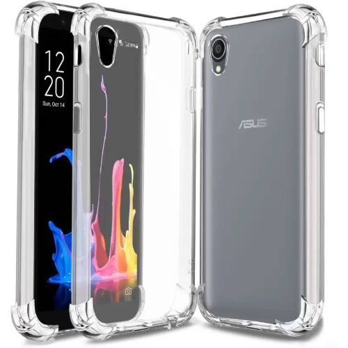 Asus Zenfone Lite L1 Transparent Soft Back Cover Case Premium 1