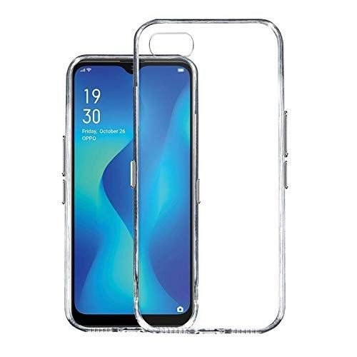Oppo A1K Transparent Soft Back Cover Case Premium 1