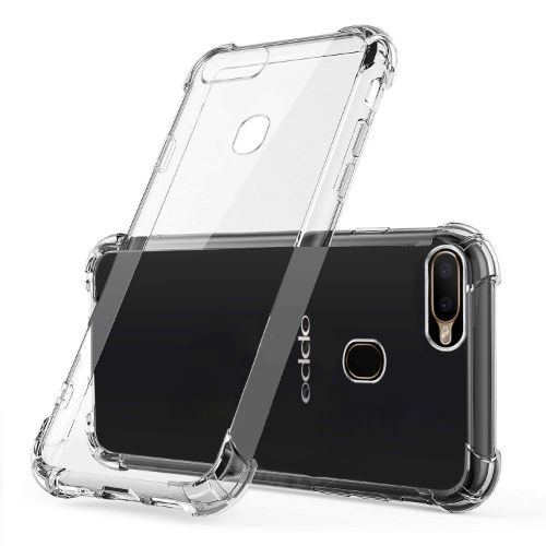 Oppo A5s (AX5s) Transparent Soft Back Cover Case Premium 1