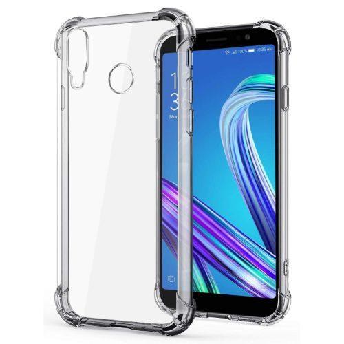 Asus Zenfone Max M1 Transparent Soft Back Cover Case 1