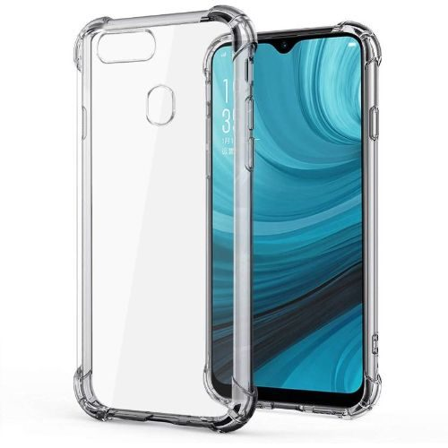 Oppo A7 Transparent Soft Back Cover Case Premium 1