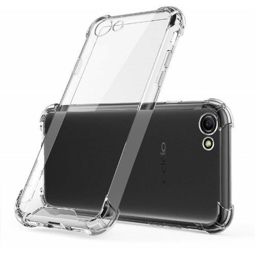 Oppo A83 Transparent Soft Back Cover Case Premium 1
