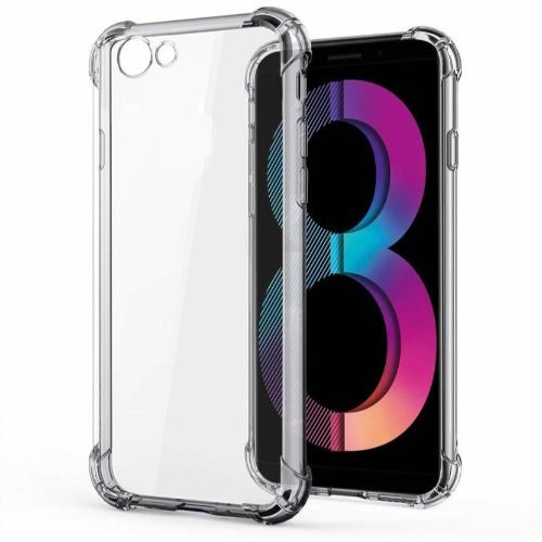 Oppo A83 Transparent Soft Back Cover Case 1