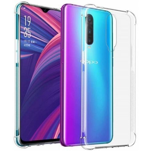 Oppo F11 Pro Transparent Soft Back Cover Case Premium 1