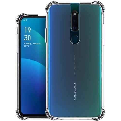 Oppo F11 Pro Transparent Soft Back Cover 1