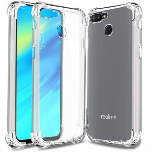 REALME 2 PRO Transparent Soft Back Cover Case 1