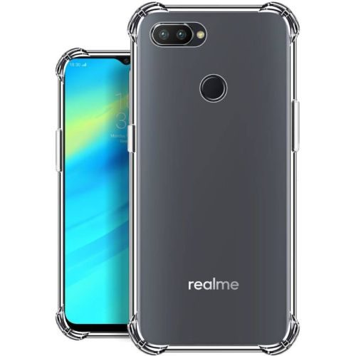 REALME 2 PRO Transparent Soft Back Cover Premium 1
