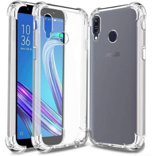 Asus Zenfone Max M1 Transparent Soft Back Cover Case Premium 1