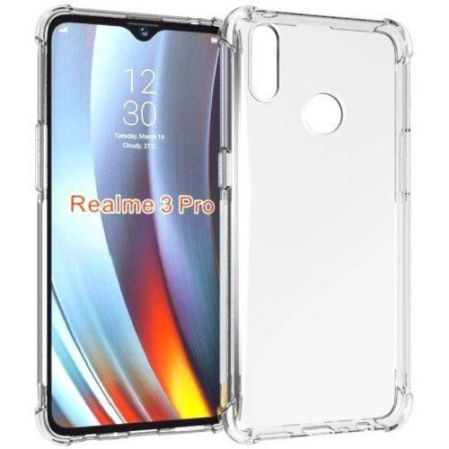 Realme 3 Pro Transparent Soft Back Cover Premium 1