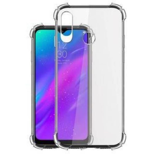 Realme 3 Transparent Soft Back Cover Case 1