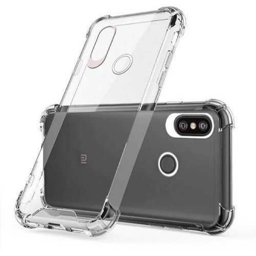 Redmi Note 6 Pro Transparent Soft Back Cover Case 1