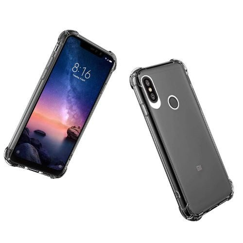 Redmi Note 6 Pro Transparent Soft Back Cover Premium 1