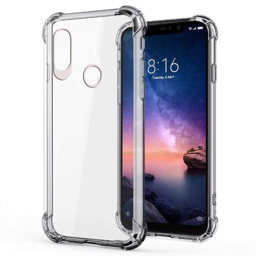 Redmi Note 6 Pro Transparent Soft Back Cover Case Premium 1