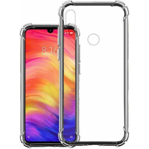 Redmi Note 7 Pro Transparent Soft Back Cover Case 1