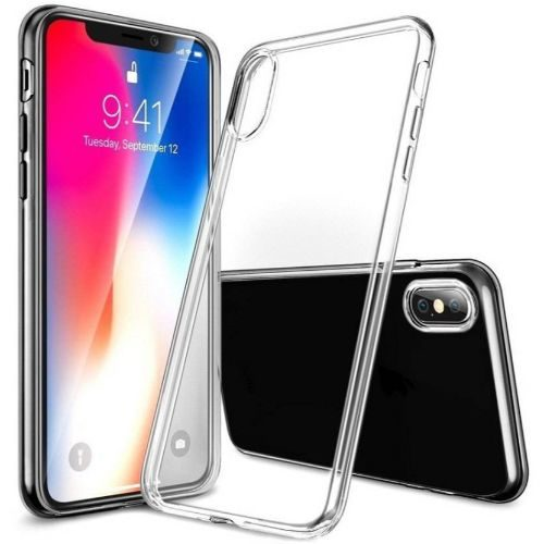 Apple iPhone X Transparent Soft Back Cover Case Premium 1