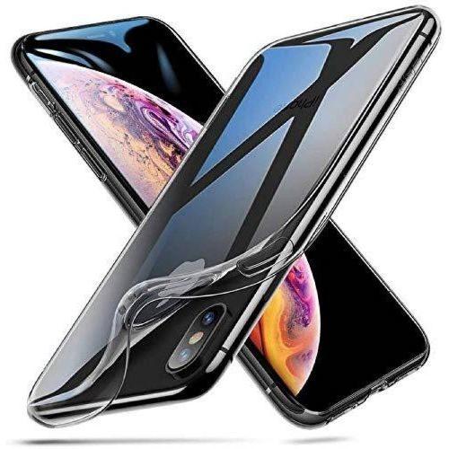 Apple iPhone XS MAX Transparent Soft Back Cover Case Premium 1