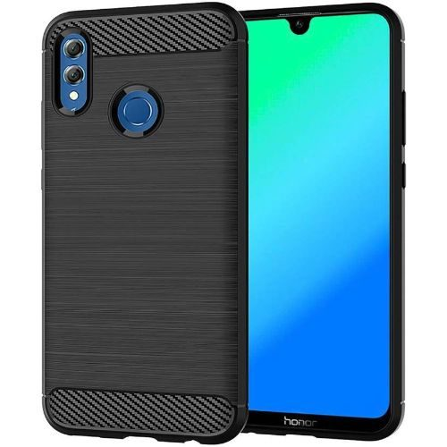 Honor 10 Lite Back Soft Black Hybrid Cover Case 1