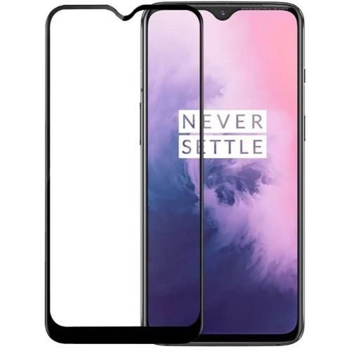 OnePlus 7 Tempered Glass Full Glue 6D Black Color 1