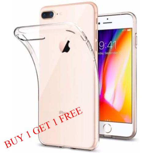 Apple iPhone 7 Plus / 8 Plus Back Transparent Soft Case Cover 1