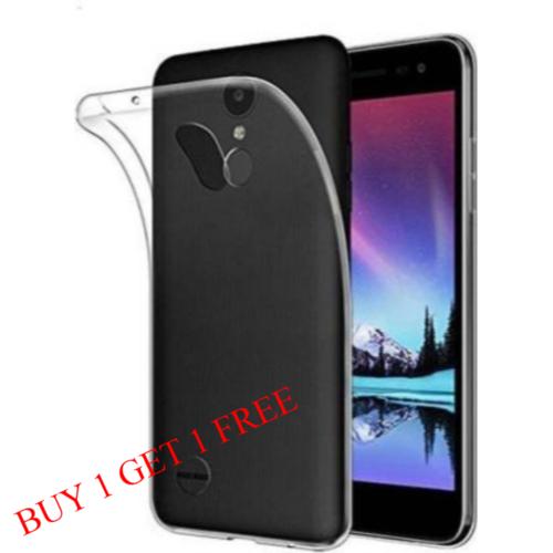 LG K8-2017 Back Transparent Soft Case Cover 1