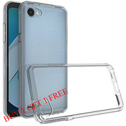LG Q6 Back Transparent Soft Case Cover 1