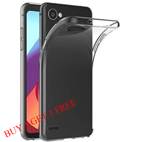LG Q6 Back Transparent Soft Case Cover 1
