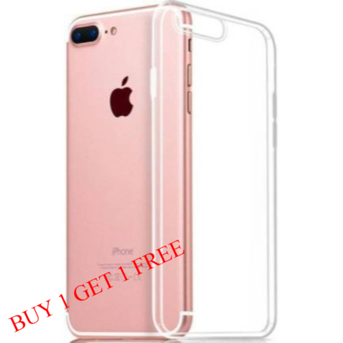 Apple iPhone 7 Plus / 8 Plus Back Transparent Soft Case Cover 1