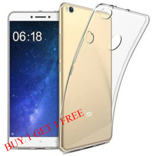 Mi Max 2 Back Transparent Soft Case Cover 1