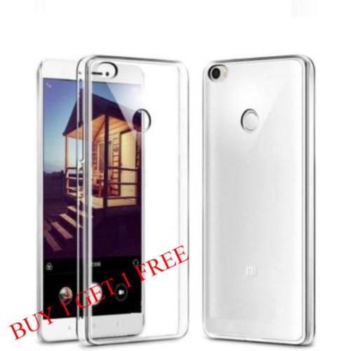 Mi Max 2 Back Transparent Soft Case Cover 1