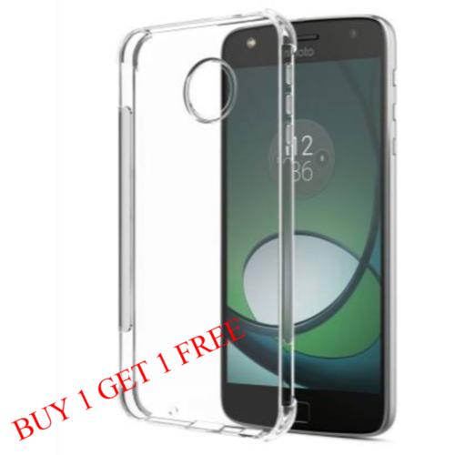 Motorola Moto E4 Plus Back Transparent Soft Case Cover 1