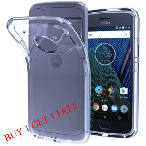 Motorola Moto E4 Plus Back Transparent Soft Case Cover 1