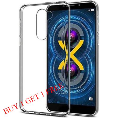 Honor 6X Back Transparent Soft Case Cover 1