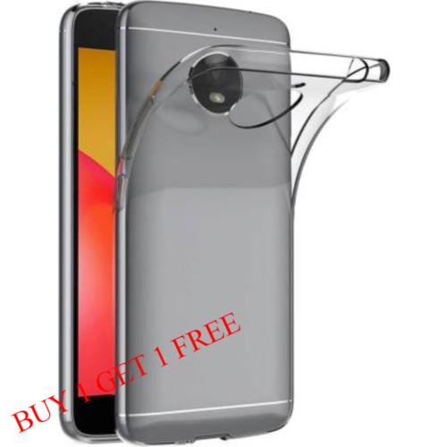 Motorola Moto E4 Back Transparent Soft Case Cover 1