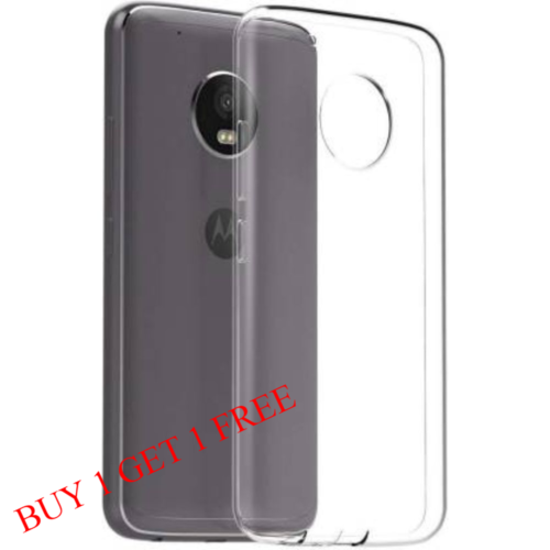 Motorola Moto G5s Back Transparent Soft Case Cover 1