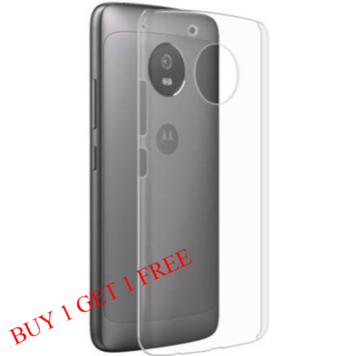 Motorola Moto G5s Plus Back Transparent Soft Case Cover 1