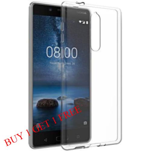 Nokia 5 Back Transparent Soft Case Cover 1
