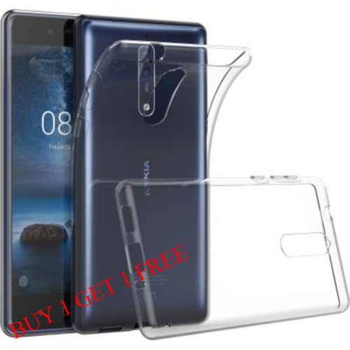 Nokia 5 Back Transparent Soft Case Cover 1