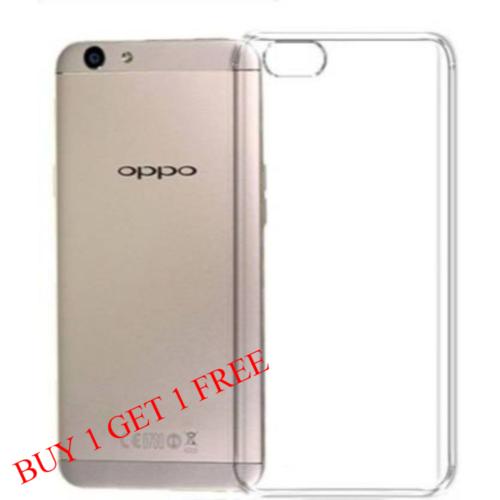 Oppo F5 Back Transparent Soft Case Cover 1