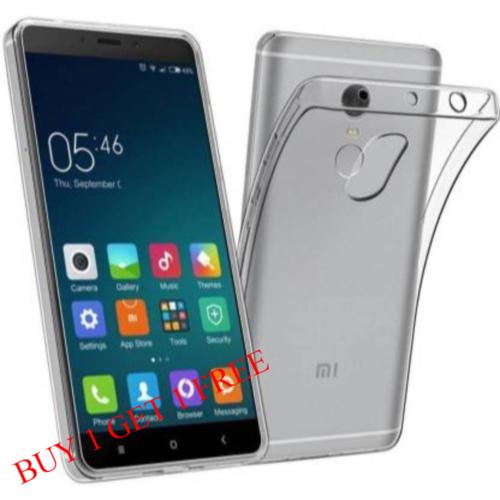 Mi Redmi Note 4 Back Transparent Soft Case Cover 1