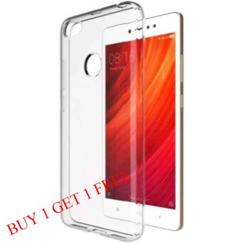 Mi Redmi Y1 Back Transparent Soft Case Cover 1