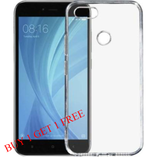 Mi Redmi Y1 Back Transparent Soft Case Cover 1